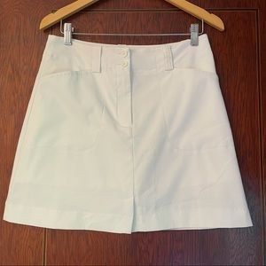 Nike golf white skirt size 6